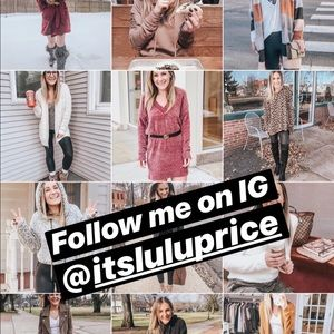 Other - Follow me on Instagram @itsluluprice